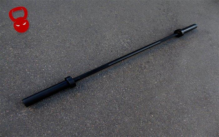 Кроссфит гриф 12,5 кг с покрытием черный цинк