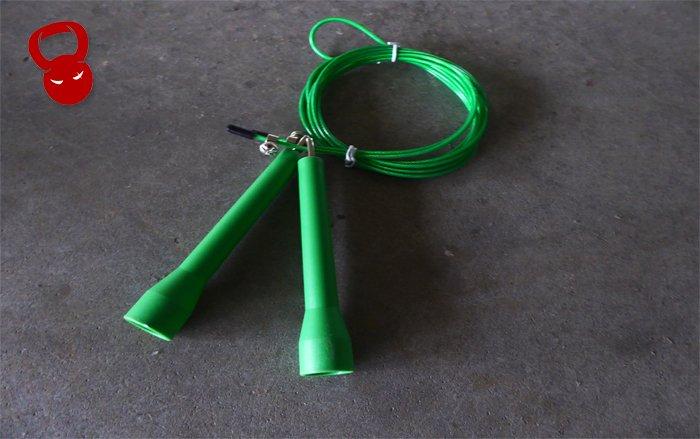 Зеленая скоростная скакалка