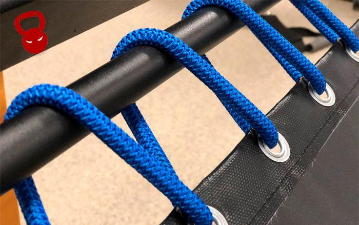 Батут для тренировок с медболами из PVC