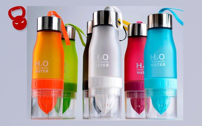 Пляшки з еко-пластика