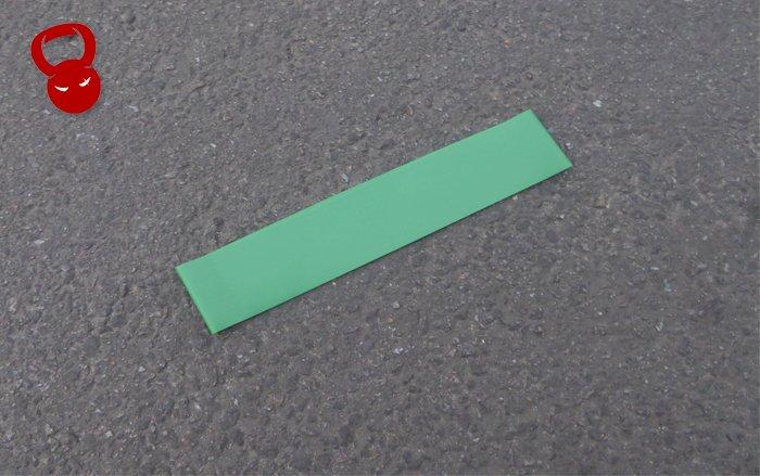 Еспандер для фітнесу Mini Bands зеленого кольору