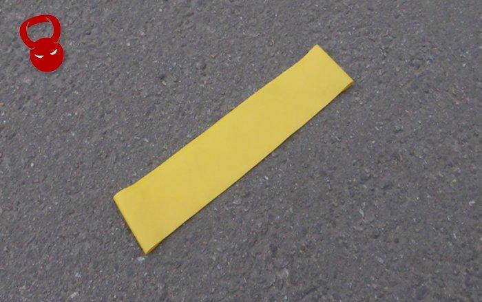 Еспандер для фітнесу Mini Bands жовтого кольору
