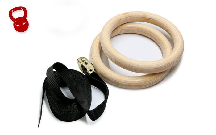 Фанерные гимнастические кольца GRW-1