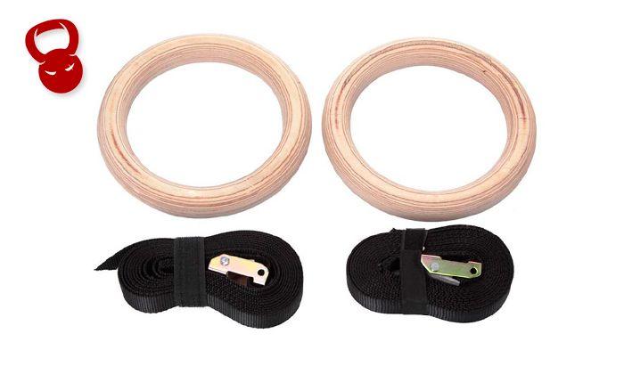Гимнастические кольца из фанеры GRW-1