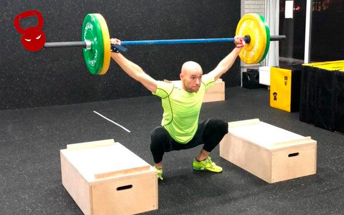 Тренировка с плинтами для тяжелой атлетики