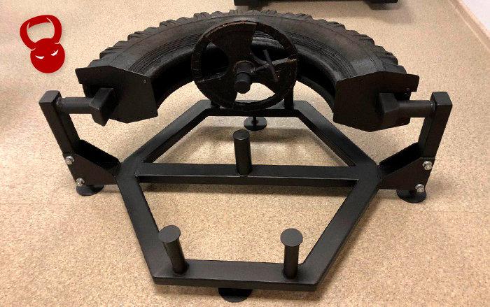 Тренажер для кантування колеса