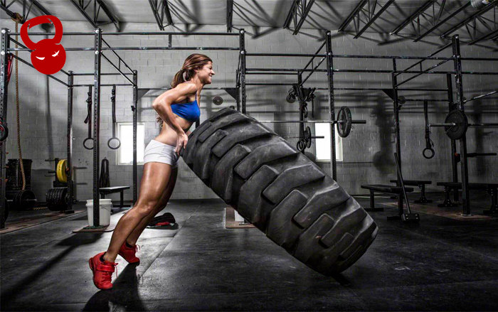 Тренування з Tire Flip
