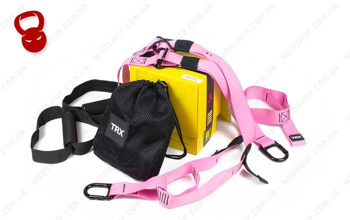 Професійні петлі TRX Home PRO рожевого кольору