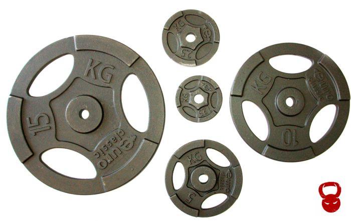 Обрезинені диски для штанги