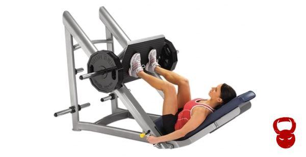 Силовий тренажер - жим ногами