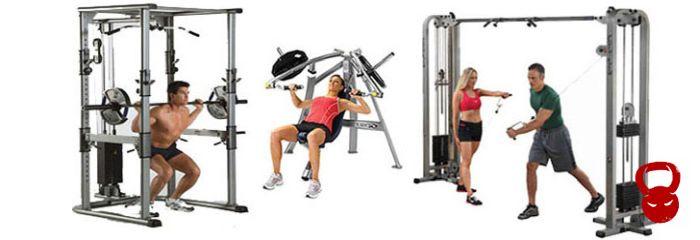 Тренажери для силових тренувань