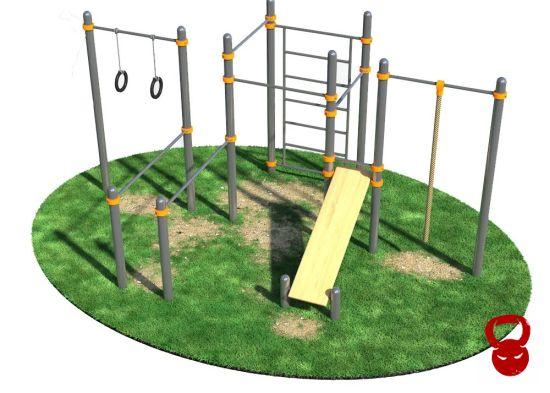 Вуличний гімнастичний комплекс