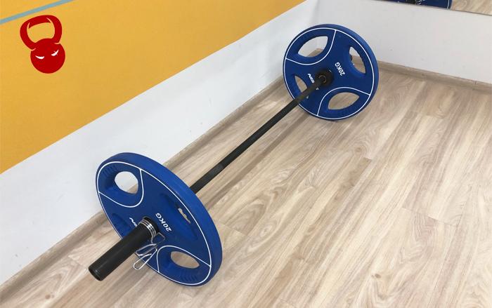 Гриф кроссфіт посилений 20 кг