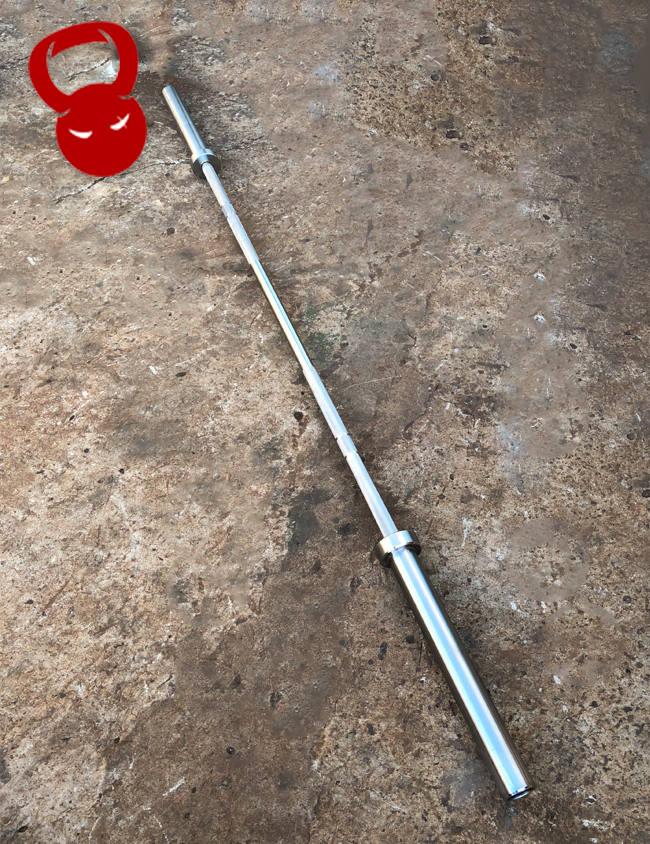 Олімпійський хромований гриф - вага 20 кг