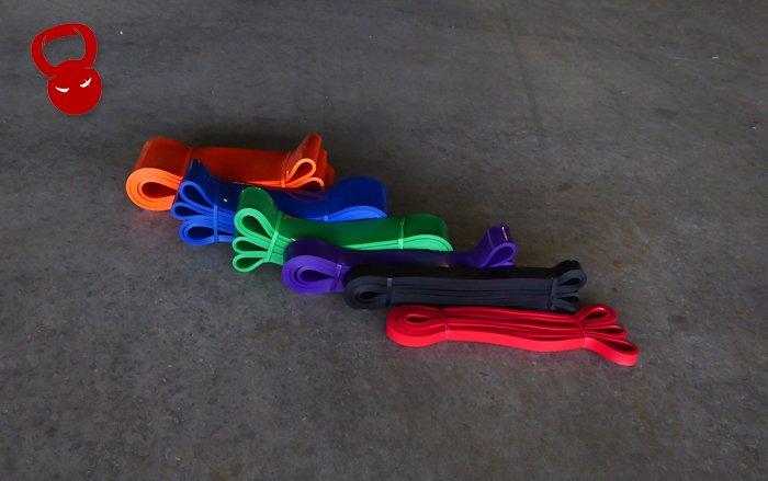 Резиновые петли Power Bands (2-16 кг сопротивления)