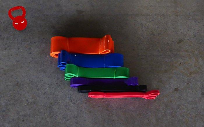 Резиновые петли Power Bands (23-68 кг сопротивления)