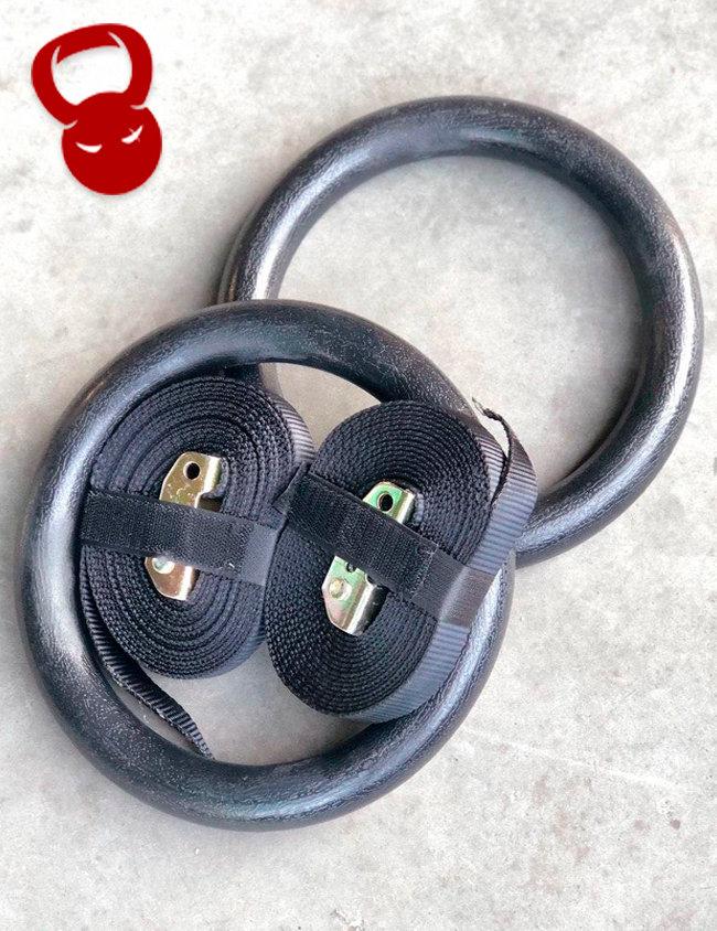 Гимнастические кольца для улицы