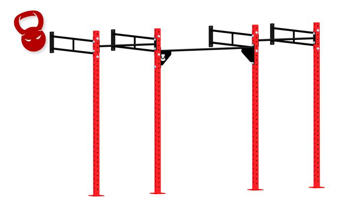 Станция пристенная тройная OCF-32 (на 7 человек)