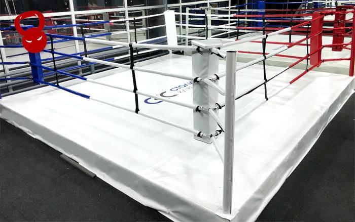 Ринг 5*5 на помосте 30 см